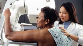woman-mammogram